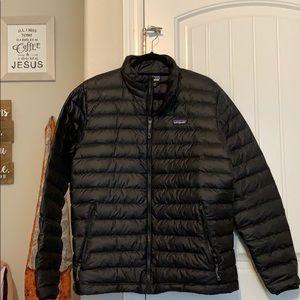 Black Patagonia Down Sweater Jacket (Black)